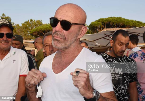 Corti attends the Fight Night Weighing Party at La Bouillabaisse Saint Tropez on August 3 2017 in SaintTropez France