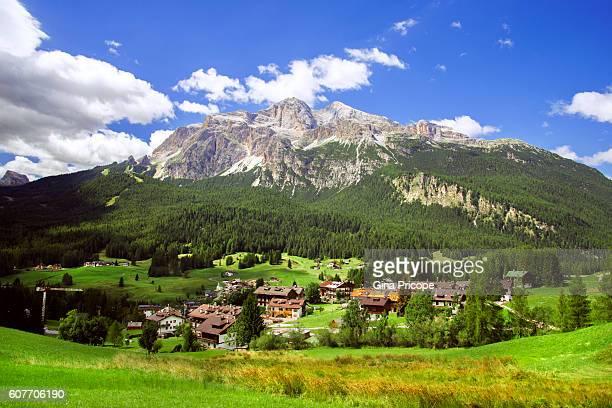 Cortina d'Ampezzo landscape, Italy.