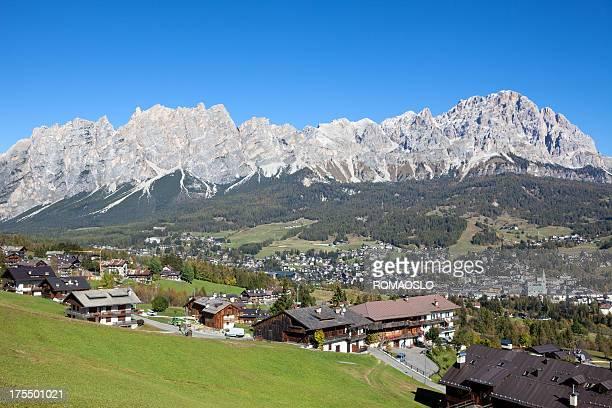 Cortina d'Ampezzo outskirts, Veneto Italy