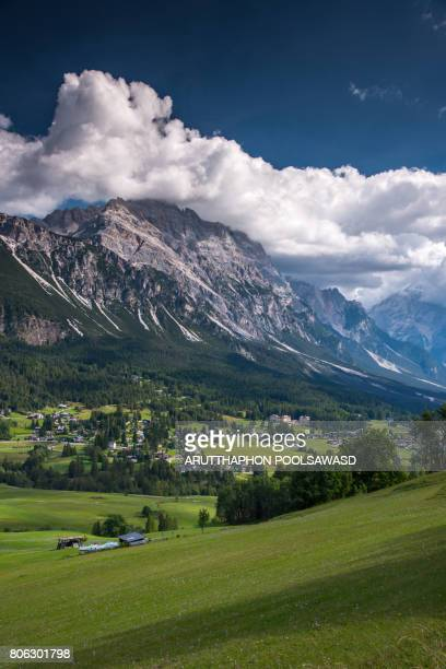 cortina d'ampezzo south tyrol , dolomites alps Italy