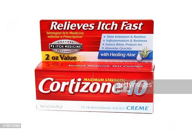 cortizone 10 lotion - hautkrankheiten stock-fotos und bilder