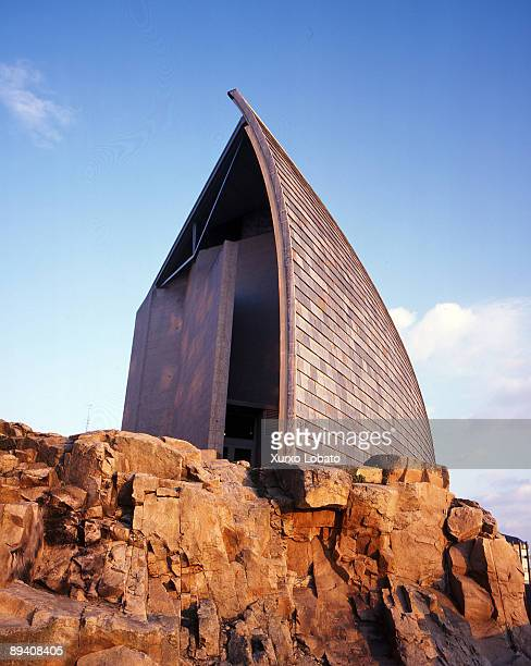 A Coruna Spain Domus the House of Humankind is the first interactive museum devoted to the human being