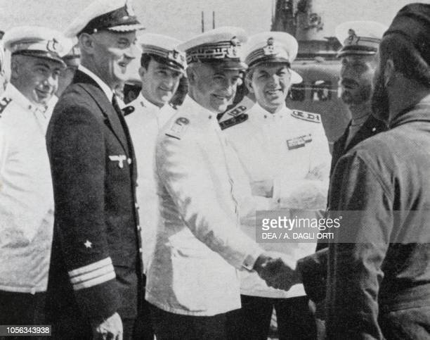 Corvette Captain Grossi German Frigate Captain Becker Lieutenant Crepas Admiral Angelo Parona Captain Polacchini Corvette Captain Carlo Fecia di...