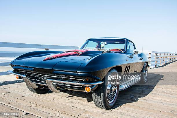 1967 corvette - chevrolet corvette stock pictures, royalty-free photos & images