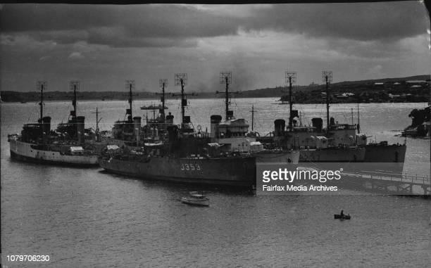 Corvettes - Australian Navy. October 1, 1946. .