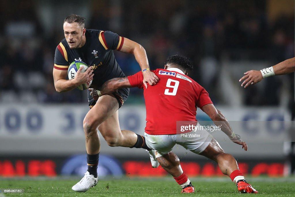 Tonga v Wales : News Photo