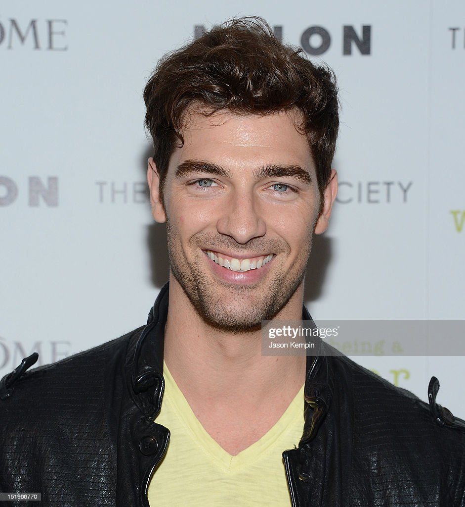 Cory Bond attends The Cinema Society with Lancome & Nylon screening of 'The Perks of Being a Wallflower' at the Crosby Street Hotel on September 13, 2012 in New York City.