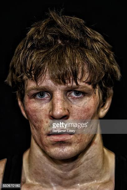 Cory Clark University of Iowa hundredandthirtythreepound weight class Portraits of wrestlers competing during the 2016 NCAA Division I wrestling...