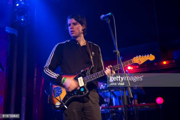 Cory Hanson of Wand performs on stage during Burguer Invasion Festival at Sala Apolo on February 17 2018 in Barcelona Spain