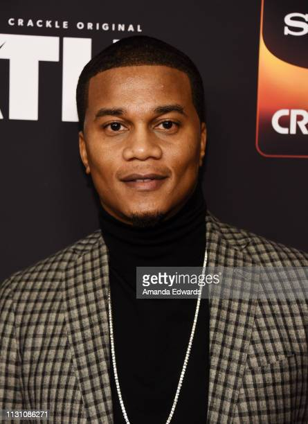 Cory Hardrict arrives at Sony Crackle's 'The Oath' Season 2 exclusive screening event at Paloma on February 20 2019 in Los Angeles California