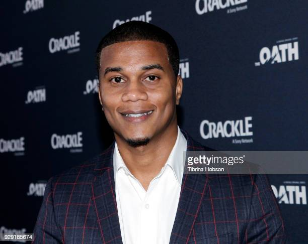 Cory Hardrict attends the premiere of Crackle's 'The Oath' at Sony Pictures Studios on March 7 2018 in Culver City California