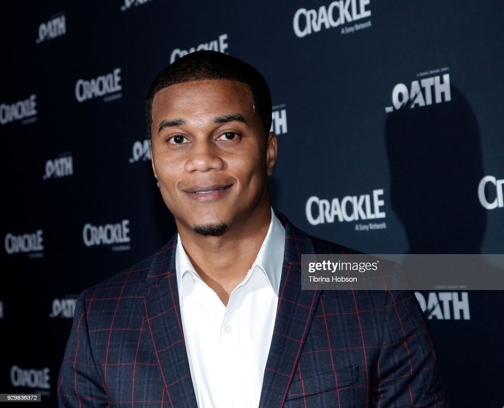 Cory Hardrict attends the premiere of Crackle's 'The Oath' at Sony Pictures Studios on March 7, 2018 in Culver City, California.