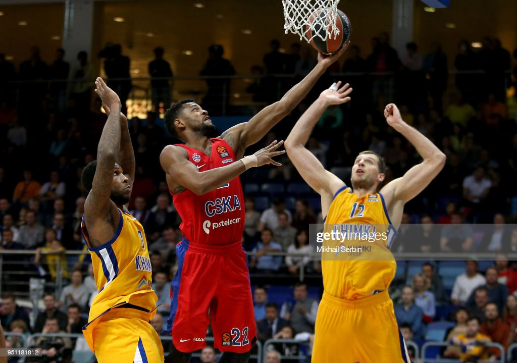Khimki Moscow Region v CSKA Moscow - Turkish Airlines Euroleague Play off Game Three