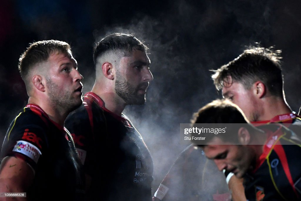Dragons v Northampton Saints - European Challenge Cup : News Photo