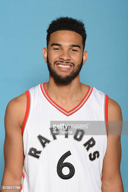 Cory Joseph of the Toronto Raptors poses for a head shot during the 20162017 Media Day on September 26 2016 at the BioSteel Centre in Toronto Ontario...