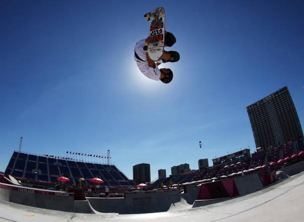 JPN: Skateboarding - Olympics: Day 13