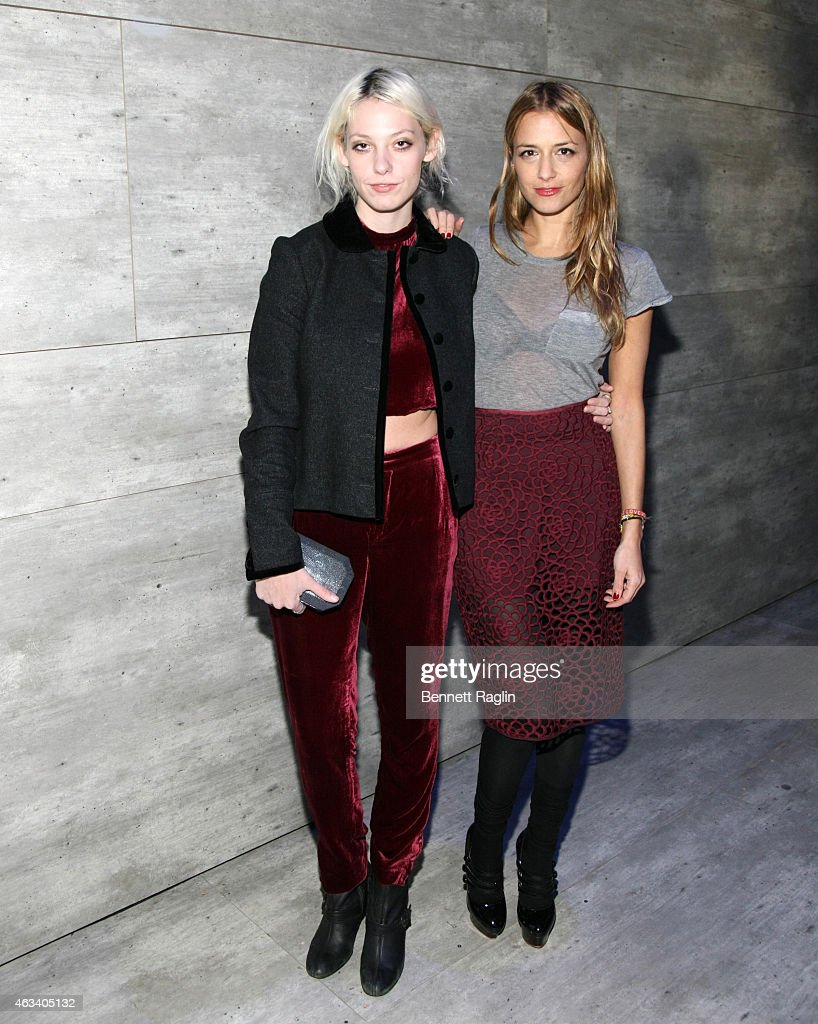 Charlotte Ronson - Front Row & Backstage - Mercedes-Benz Fashion Week Fall 2015