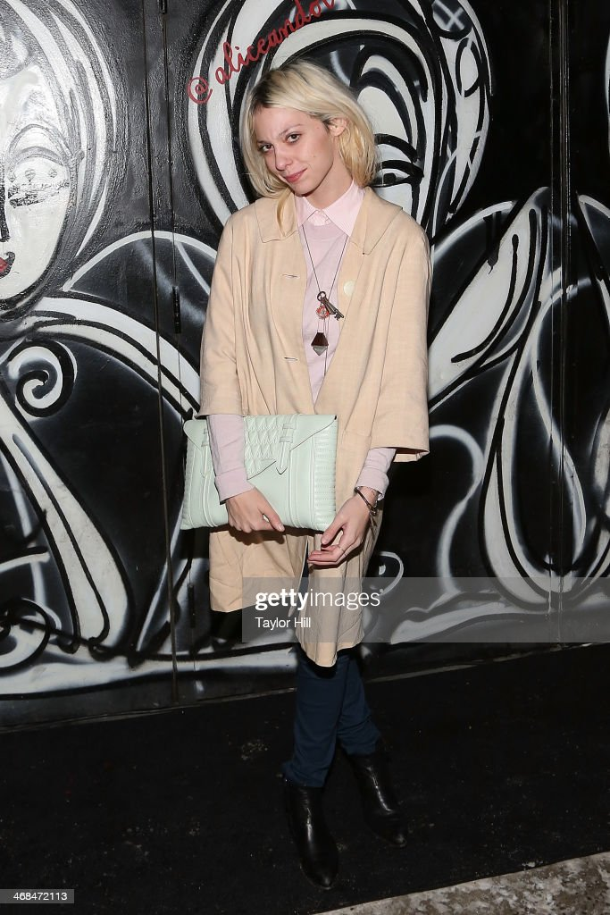 Alice And Olivia By Stacy Bendet - Arrivals - Fall 2014 Mercedes - Benz Fashion Week