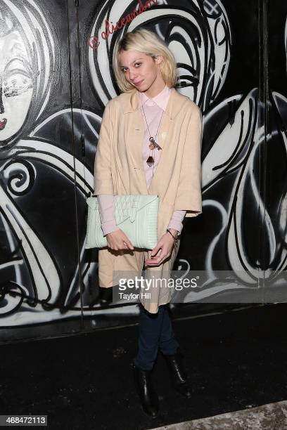 Cory Kennedy attends the Alice And Olivia fall 2014 fashion show on February 10 2014 in New York City