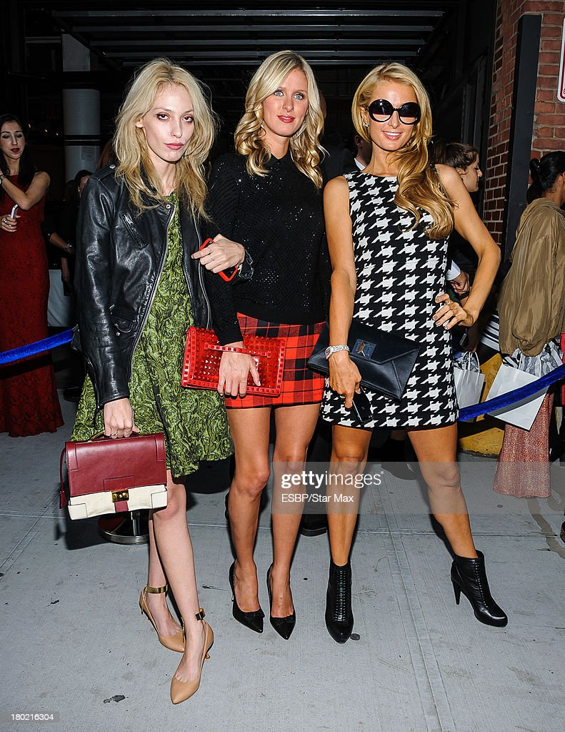 Cory Kennedy, Nicky Hilton and Paris Hilton are seen on September 9, 2013 in New York City.