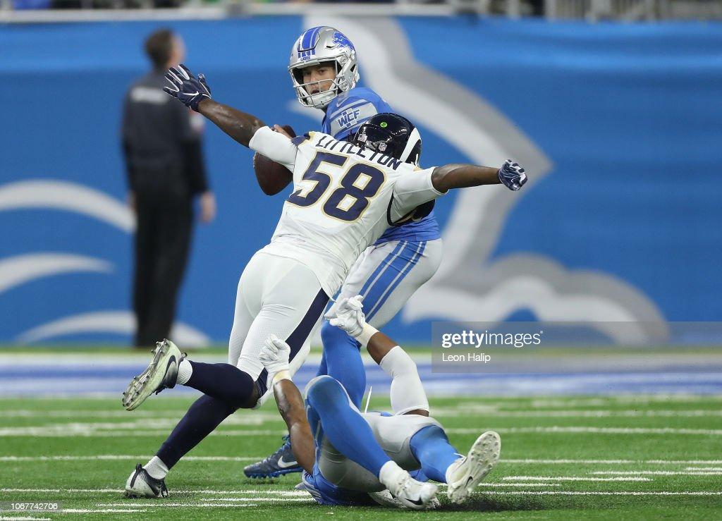 Los Angeles Rams v Detroit Lions : News Photo
