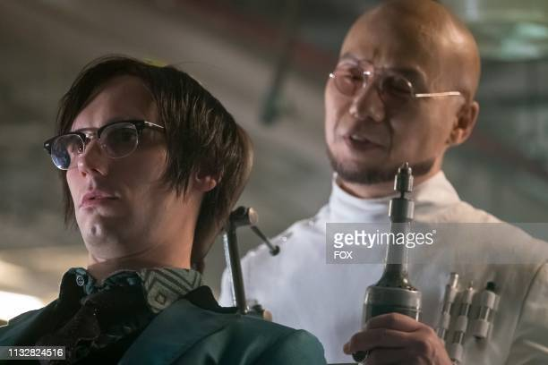 Cory Michael Smith and guest star BD Wong in the Pena Dura episode of GOTHAM airing Thursday, Jan. 31 on FOX.