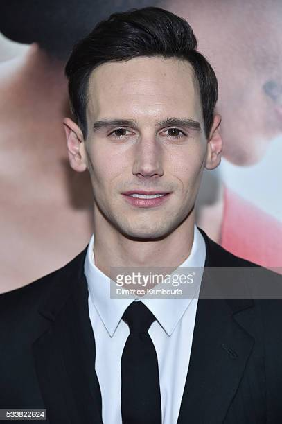 """Cory Michael Smith attends """"Me Before You"""" World Premiere at AMC Loews Lincoln Square 13 theater on May 23, 2016 in New York City."""
