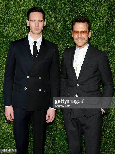 Cory Michael Smith attends the 12th annual CFDA/Vogue Fashion Fund Awards at Spring Studios on November 2, 2015 in New York City.