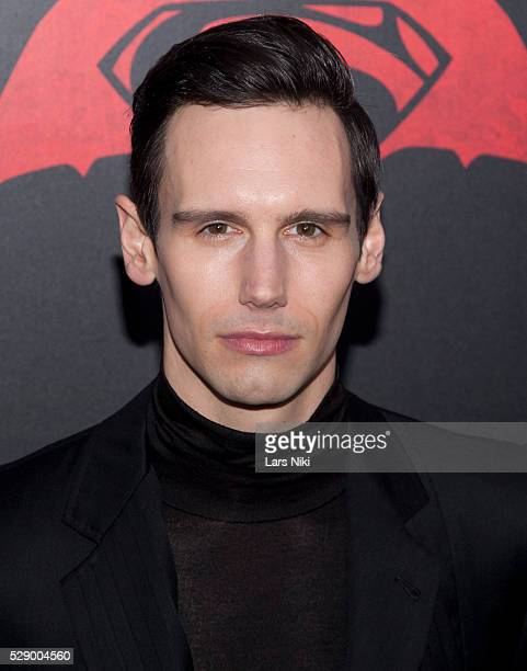 "Cory Michael Smith attends the ""Batman V Superman: Dawn Of Justice"" New York Premiere at Radio City Music Hall in New York City. �� LAN"