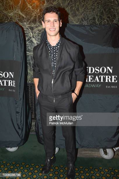 Cory Michael Smith attends the Head Over Heels Broadway Opening Night Party at Guastavino's on July 26 2018 in New York City