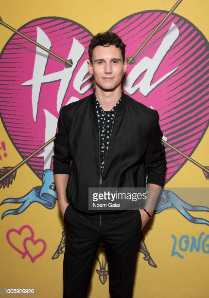"""Cory Michael Smith attends the opening night of """"Head Over Heels"""" on Broadway at Hudson Theatre on July 26, 2018 in New York City."""