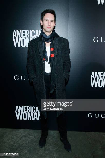 """Cory Michael Smith attends the screening of """"American Woman"""" at Metrograph on December 12, 2019 in New York City."""