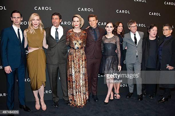 Cory Michael Smith Cate Blanchett Kyle Chandler Sarah Paulson Jake Lacy Rooney Mara producer Elizabeth Karlsen director Todd Haynes producer...