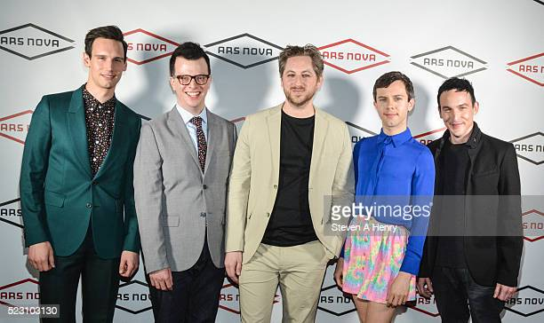 Cory Michael Smith Isaac Oliver Jason Eagan Cole Escola and Robin Lord Taylor attend Showgasm XXL at Marquee on April 21 2016 in New York City