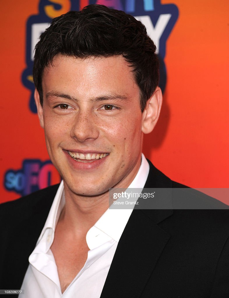 Cory Monteith arrives at the FOX 2010 Summer TCA All-Star Party on August 2, 2010 in Santa Monica, California. at Pacific Park .