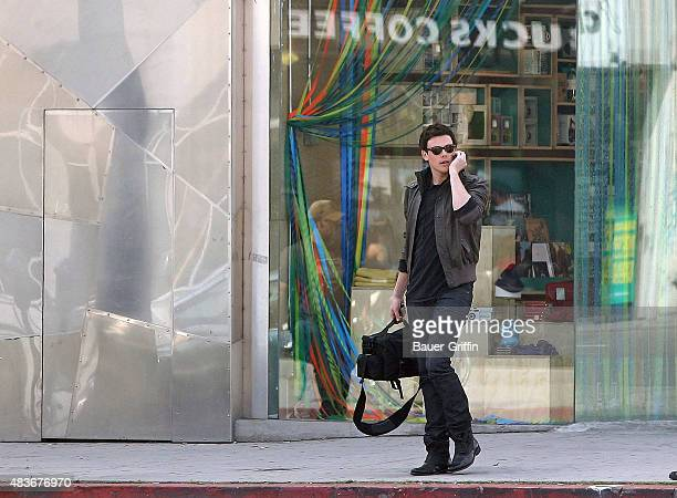 Cory Monteith is seen on March 04 2011 in Los Angeles California