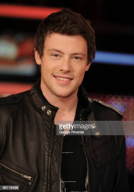 Cory Monteith visits ET Canada on November 17 2009 at the ET Canada Studios in Toronto Canada