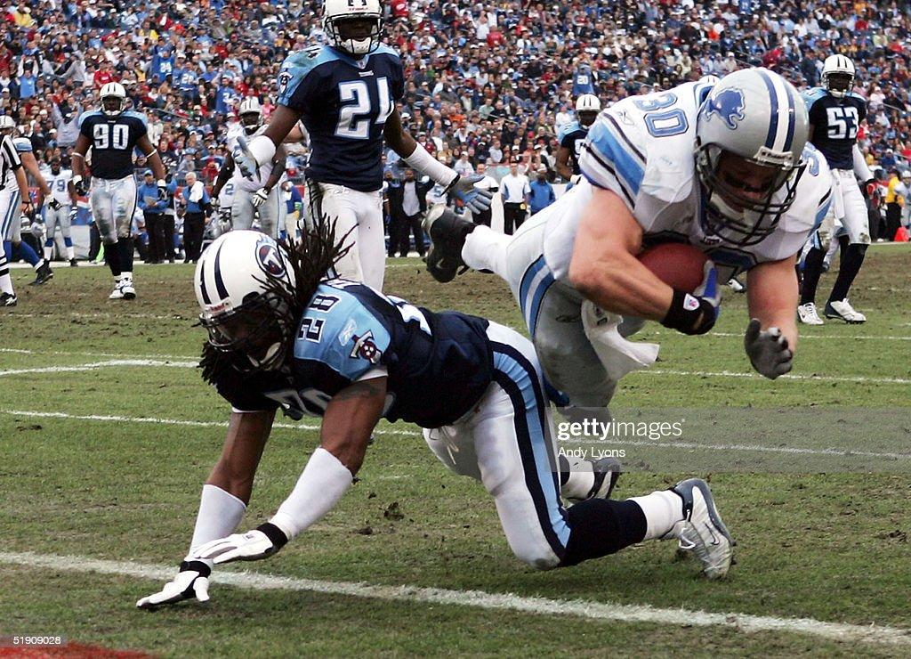 Detroit Lions v Tennessee Titans : News Photo