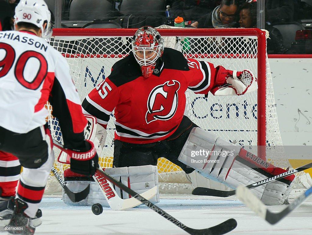 Ottawa Senators v New Jersey Devils : News Photo