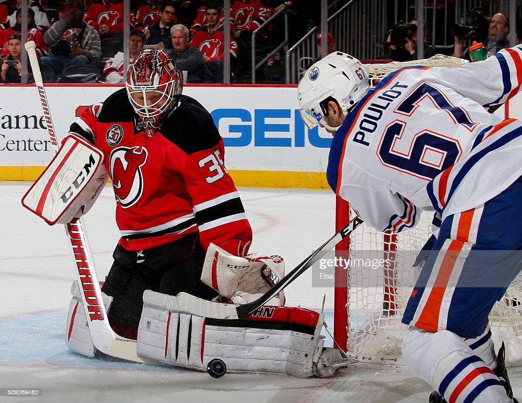 Edmonton Oilers v New Jersey Devils : News Photo