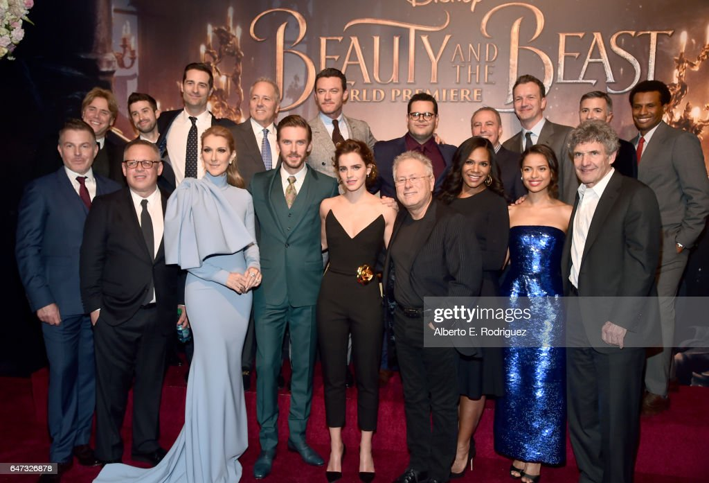 "The World Premiere Of Disney's Live-Action ""Beauty And The Beast"" : Nachrichtenfoto"