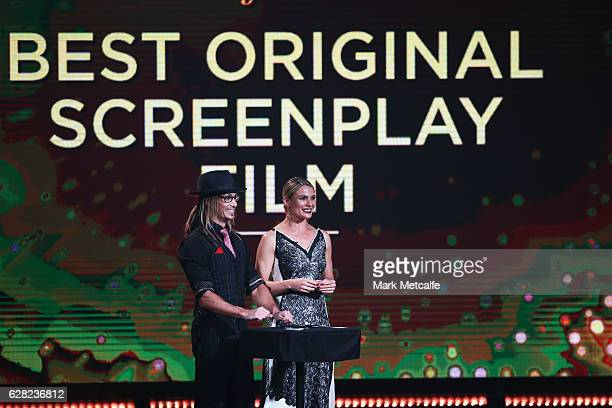 Cosentino and Danielle Cormack during the 6th AACTA Awards Presented by Foxtel at The Star on December 7 2016 in Sydney Australia