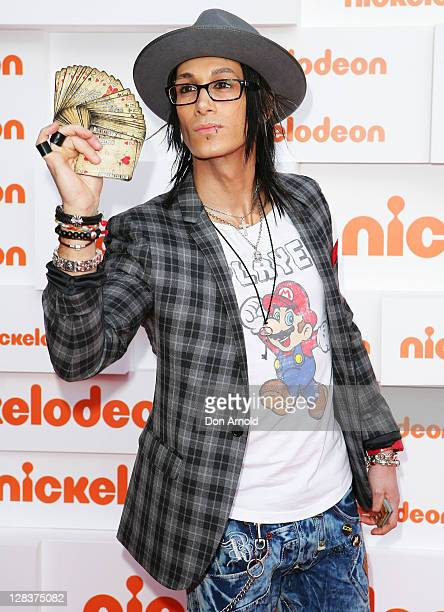 Cosentino arrives at the 2011 Nickelodeon Kid's Choice Awards at the Sydney Entertainment Centre on October 7, 2011 in Sydney, Australia.
