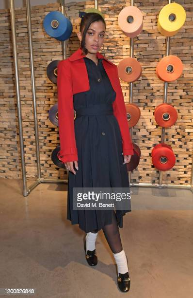 Cosima attends the Mulberry: Made to Last dinner on February 14, 2020 in London, England.