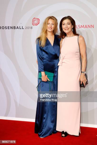 Cosima Auermann and Alexandra von Rehlingen attend the Rosenball charity event at Hotel Intercontinental on May 5 2018 in Berlin Germany