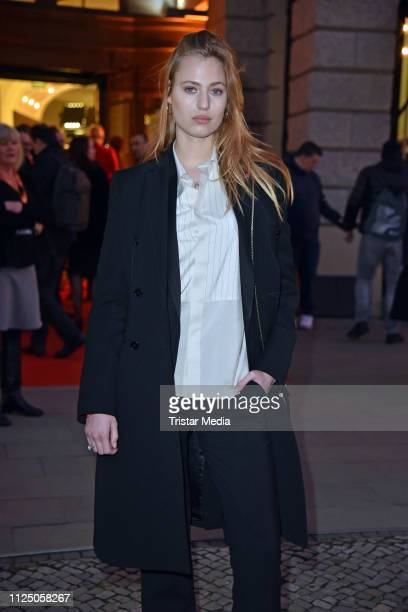 Cosima Auermann attends the 'Peter Lindbergh Women Stories' world premiere after show party during the 69th Berlinale International Film Festival at...