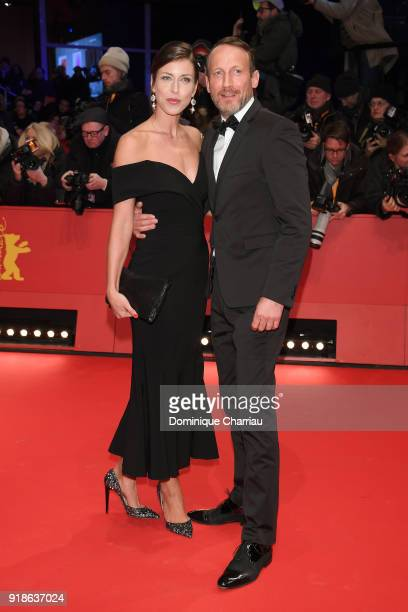 Cosima Lohse and Wotan Wilke Moehring attend the Opening Ceremony 'Isle of Dogs' premiere during the 68th Berlinale International Film Festival...