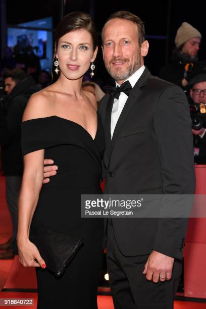 Cosima Lohse and Wotan Wilke Moehring attend the Opening Ceremony & 'Isle of Dogs' premiere during the 68th Berlinale International Film Festival...