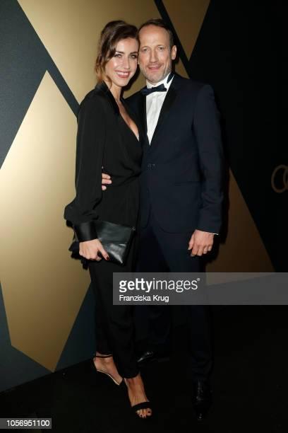 Cosima Lohse and Wotan Wilke Moehring attends the 25th Opera Gala at Deutsche Oper Berlin on November 3, 2018 in Berlin, Germany.