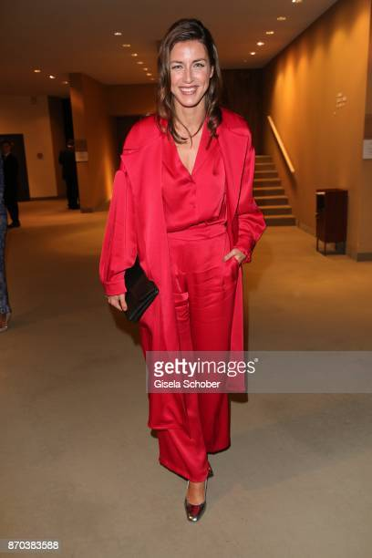 Cosima Lohse during the 24th Opera Gala benefit to Deutsche Aids-Stiftung at Deutsche Oper Berlin on November 4, 2017 in Berlin, Germany.